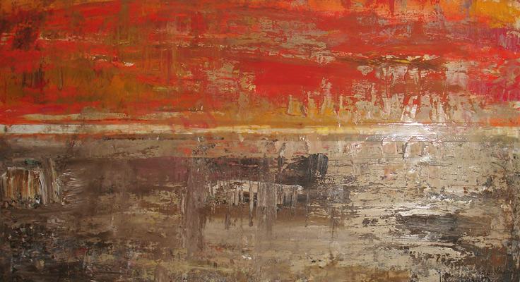 Conosciuto Arte contemporanea pittrice astratta Parma. Ilaria Libanotti LW73